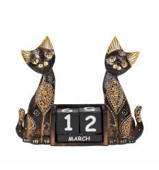 Calendar 2 pisici 20 cm B