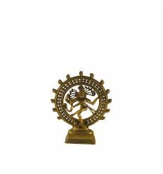Shiva cerc mare bronz - 23 cm