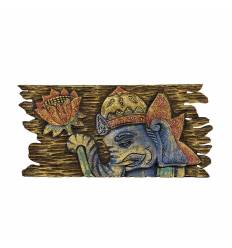 Tablou Ganesh franjuri 40x20cm