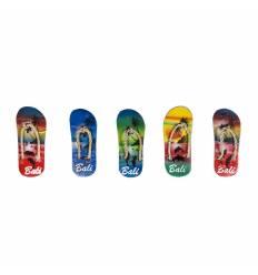 Decoratiuni magnet lemn 5/ set papuci