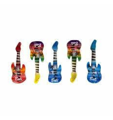 Decoratiuni magnet lemn 5/ set chitare