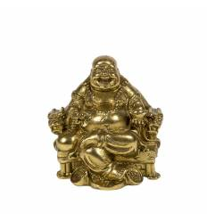 Happy budha bronz