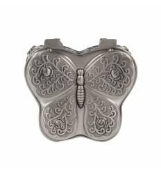 Caseta fluture mica zinc