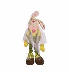 Ornament paste iepuri  picioare extensibile