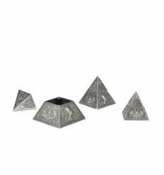 Piramide zinc 3/set