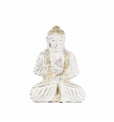 Statueta buddha  25cm lemn