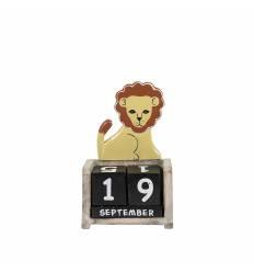 Calendar leu  / tigru lemn